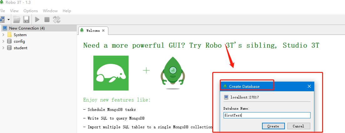 mongoDB可视化工具RoBo 3T的安装和使用- 可靠的企业级http代理